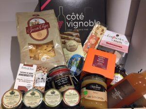 Côté Vignoble – épicerie fine, crèmerie et cave à vins : Coffret cadeau 4